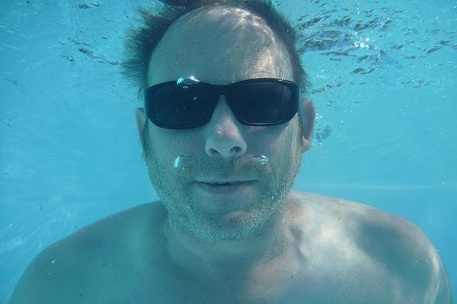 potápění s brýlemi