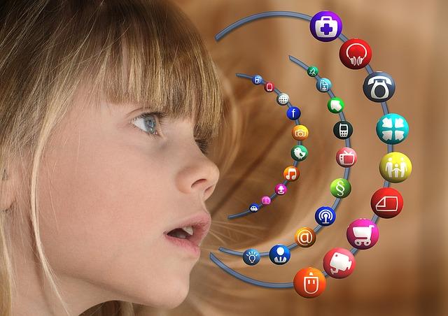 dítě a ikony
