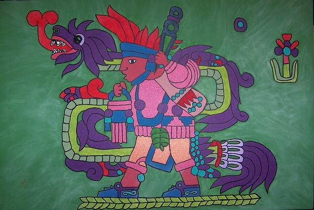 aztécký obrázek