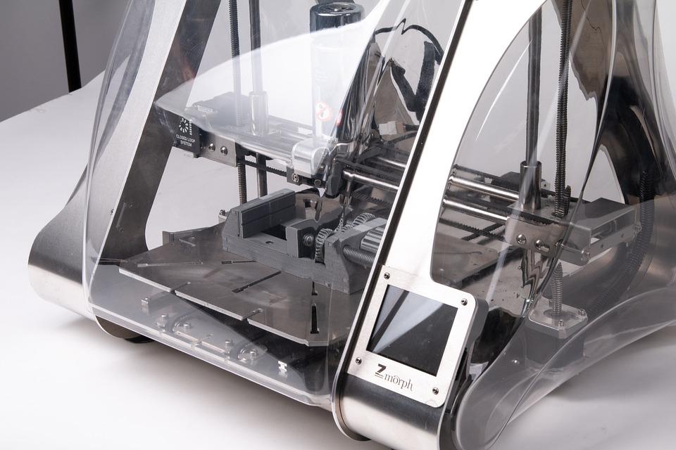průhledná tiskárna